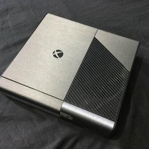 skin xbox  360 e elite brushed