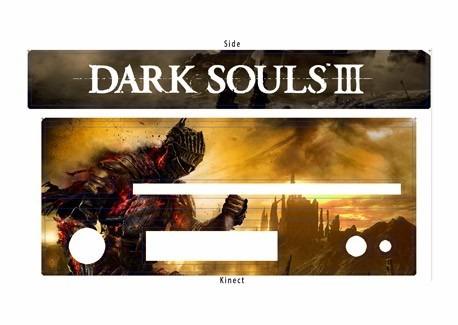 skin xbox one dark soul consola+2 skins controles personaliz