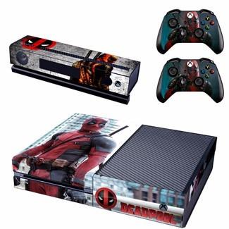 skin xbox one deadpool (1) consola+2 skins controles