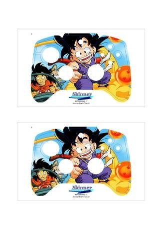 skin xbox one dragon ball z consola+2 skins controles person