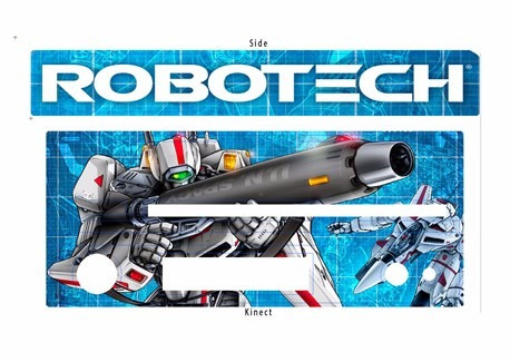 skin xbox one macros robotech (1) consola+2 skins controles
