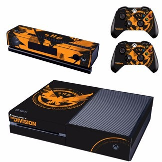 skin xbox one the division (1) consola+2 controles