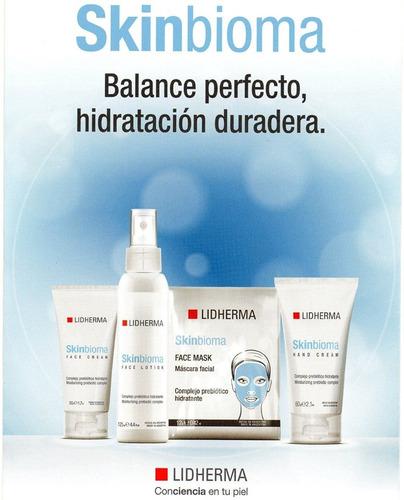 skinbioma face mask unidad hidratante reparadora lidherma