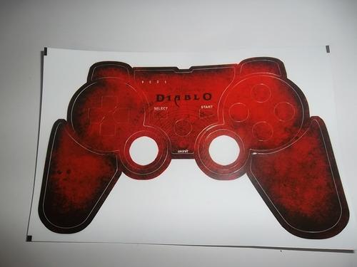 skins,adesivos para controle playstation 3 (diablo)