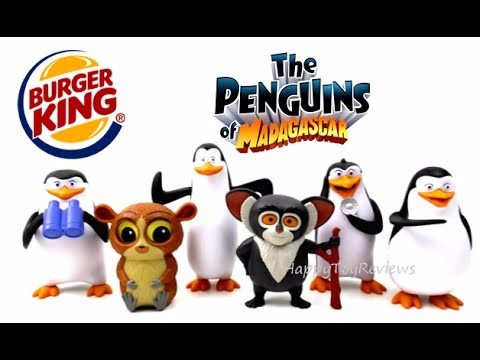 skipper los pinguinos de madagascar burger king 2016