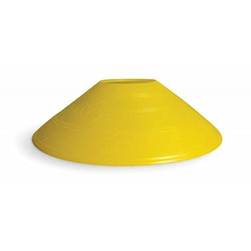 sklz agilidad cono  juego de 20 conos en 4 colores amarillo