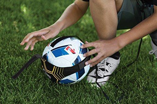sklz star-kick hands free entrenador de fútbol solo - se ada