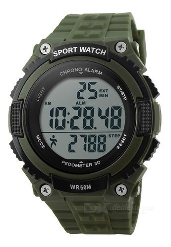 skmei 1112 50m waterproof outdoor sports watch w/ pedometer