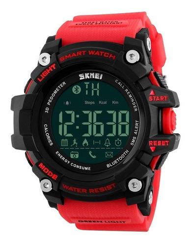skmei 1227 reloj inteligente sumergible bluetooth podómetro