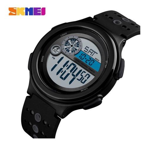 skmei 1374 moda sports relógio 50m à prova d'água multif