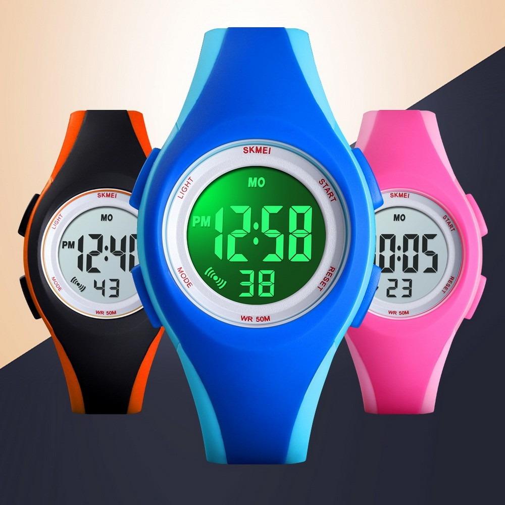 Impermeable Skmei Deportes Reloj 1459 Ro Niños Digital w0OnPk8