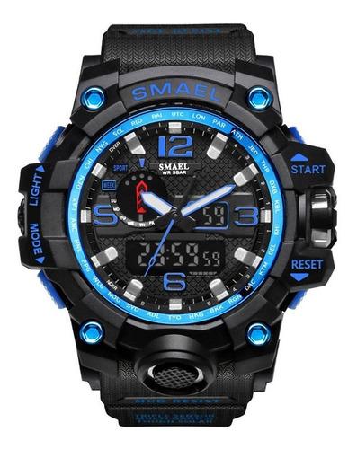 skmei 1545 homens relógio de cintura digital 50m à prova d'