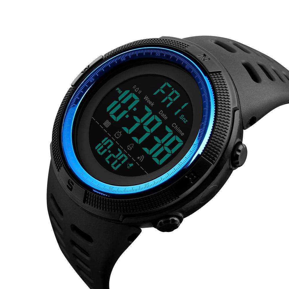 24aa5a5df733 skmei hombres deportes relojes cuenta atrás doble tiempo re. Cargando zoom.