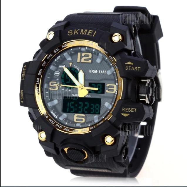 47fd53be19f Skmei-relógio Masculino Sport Modelo1155 Importado - R  120