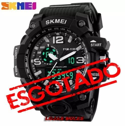 8fd01aff299c Skmei Relógio Original Modelo 1155 Prova D água E Impactos - R  79 ...