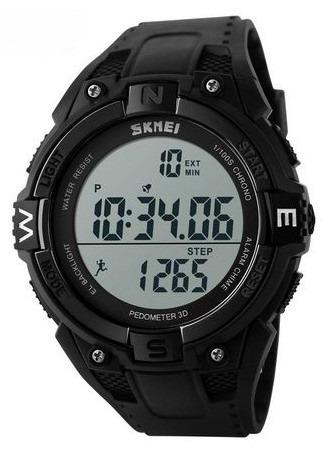 skmei - reloj cuenta pasos outdoor alarma crono multifunción