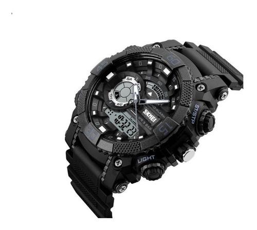 skmei reloj inteligente sumergible 50m digital alarma luz