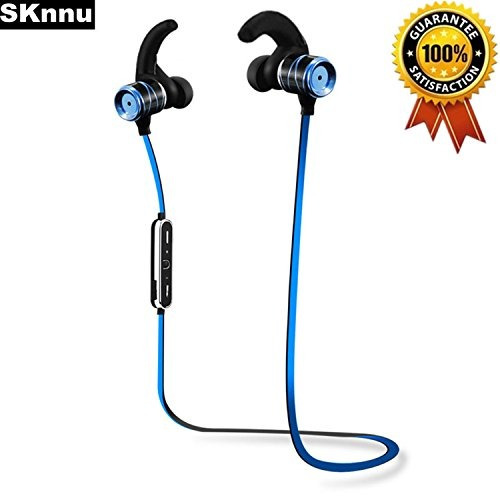 sknnu earhook auriculares bluetooth auriculares fitness earh