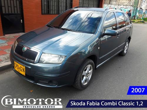 skoda fabia combi classic 1.2 2007