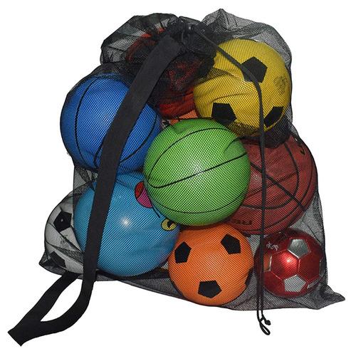 skoloo bolso de balón de fútbol de malla con cordón ex...