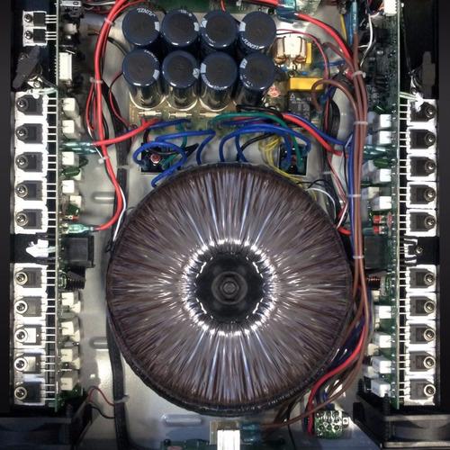 skp maxg 3620x  amplificador de potencia 3600w