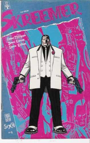 skreemer- mini série em 6 edições