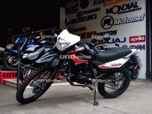 skua 200 v6 0km enduro motocross motomel
