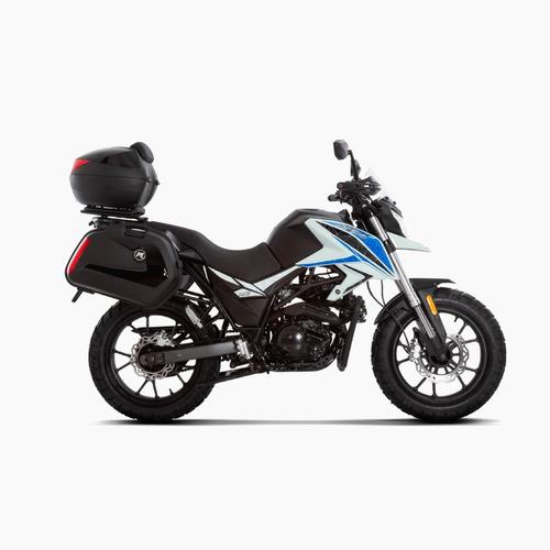 skua 250 adventure equipada para viajar