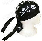 skull cap / bandana americana con calaveras / talla unica