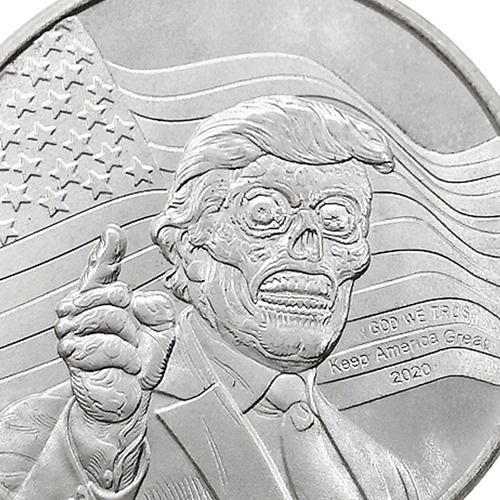 skull zombie skeleton copy coins moneda conmemorativa