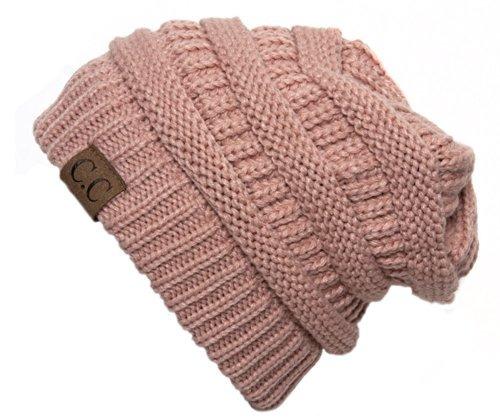 skullies y gorros,gruesa casquillo del knit beanie estir..
