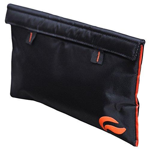 skunk mr slick smell proof bolsa de 11 x6 (negro / naranj