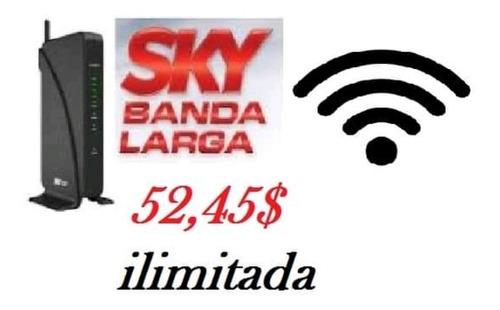sky banda larga