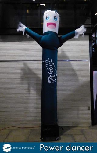 sky dancer muñeco con brazos sublimado
