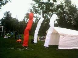 sky dancer ventilador + forro d 4 metros publicitario oferta