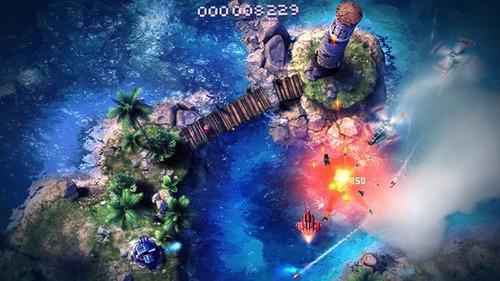sky force anniversary - psn ps3 - hometeky games