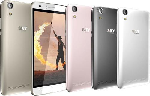 sky fuego 5.0+ , 5mp camara, 4gb memoria android 6.0
