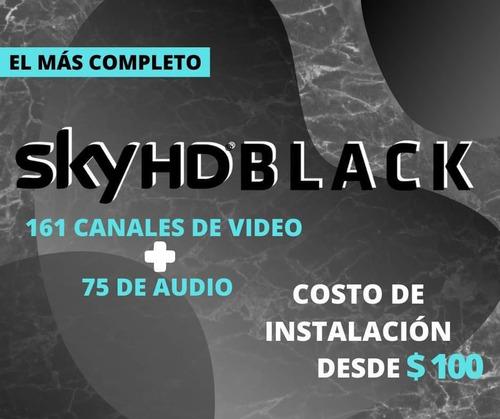 sky hd internet inalambrico servicio gold platinum y black