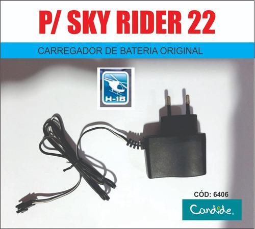 sky rider 22  6406 - h-18 - carregador original