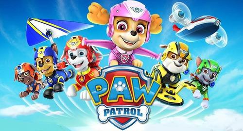 skye rescue air peluche patrulla canina paw patrol 17x16