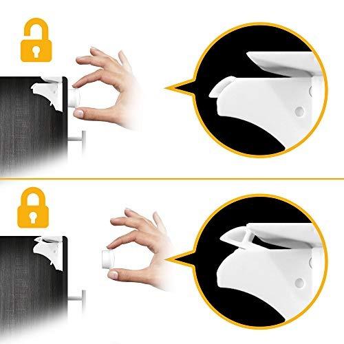 skyla homes   cierre magnético para armario