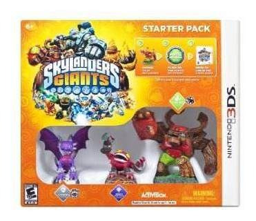 skylanders giants starter pack - nintendo 3ds