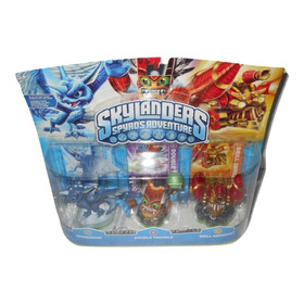 Skylanders Spyros Adventure 3 Pack Paquete De 3 Figuras +++