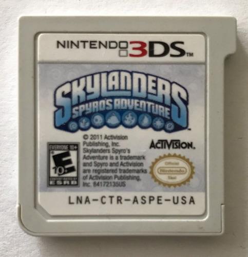 skylanders spyros adventure nintendo 3ds usado