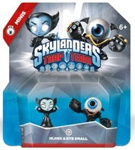 skylanders trap team hijinx & eye small minis  nuevo (jdc)