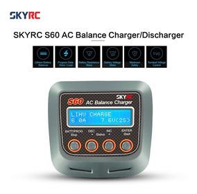 Skyrc S60 60w Ac Balance Cargador / Descargador Para Batería