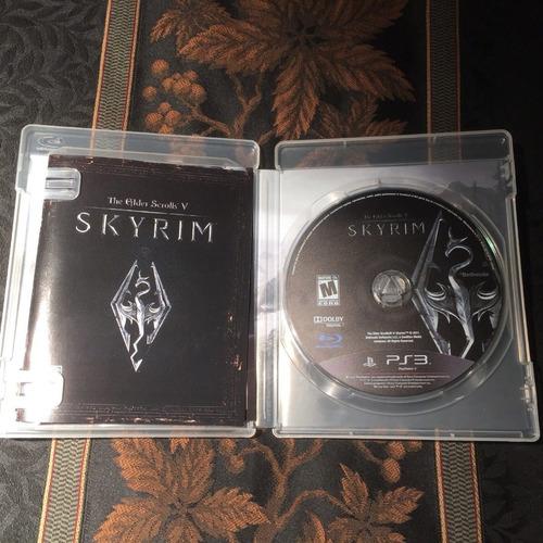 skyrim -juego -ps3