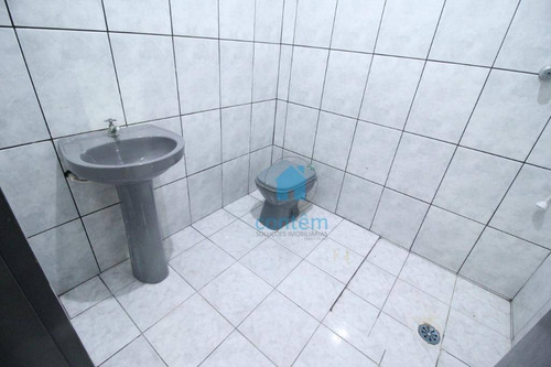 sl0016- salão para alugar, 150 m² por r$ 1.500/mês - umuarama - osasco/sp - sl0016
