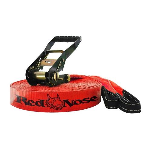 slackline fita 15m red nose