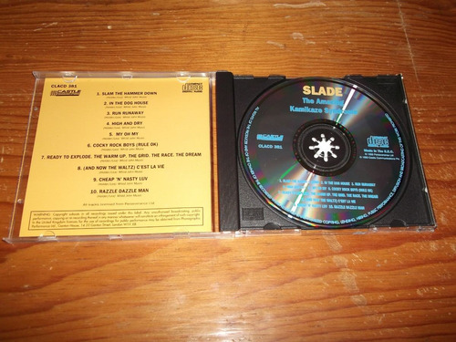slade - amazing kamikaze syndrome cd castle ed 1993 mdisk